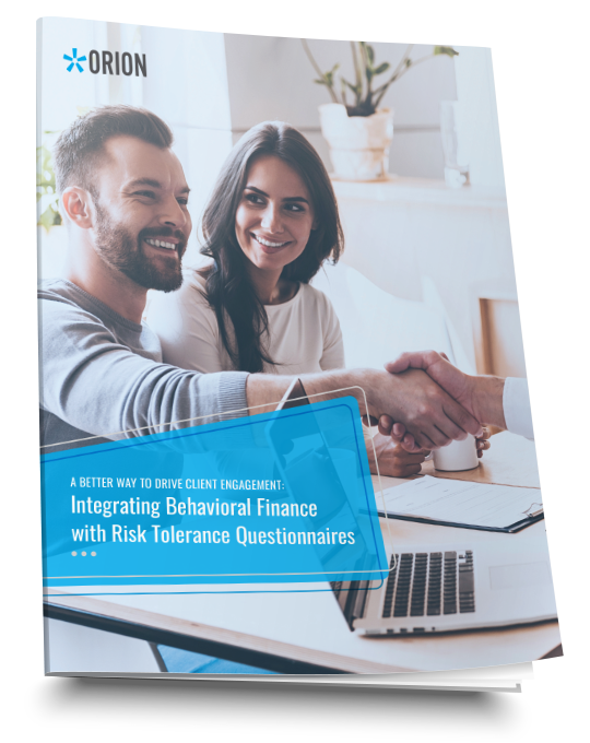 Integrating Behavioral Finance with Risk Tolerance Questionnaires book cover